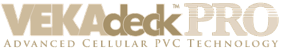 VEKAdeckPRO Advanced Cellular PVC Technology