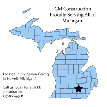 Locations Served By Southeastern Michigan Custom Deck