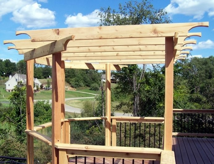 Southeastern Michigan Custom Pergolas Photo Gallery By Gm