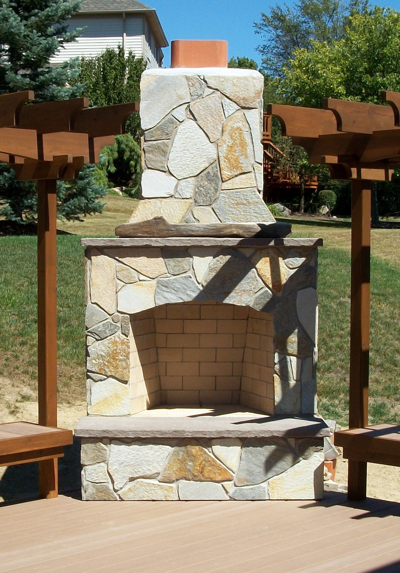 Southeastern Michigan Outdoor Fireplaces amp Living
