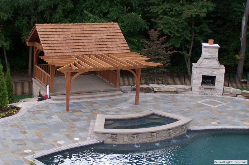 Southeastern Michigan Outdoor Living Spaces Outdoor Fireplaces And Landscaping Photo Gallery By