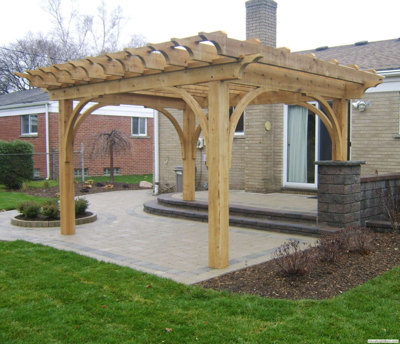 Pergola Design Builders: Southeastern Michigan Custom Pergolas & Timber Structures